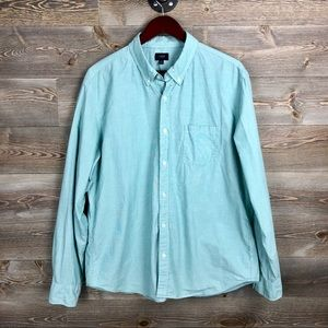 J Crew Washed End on end Cotton Button Down Shirt